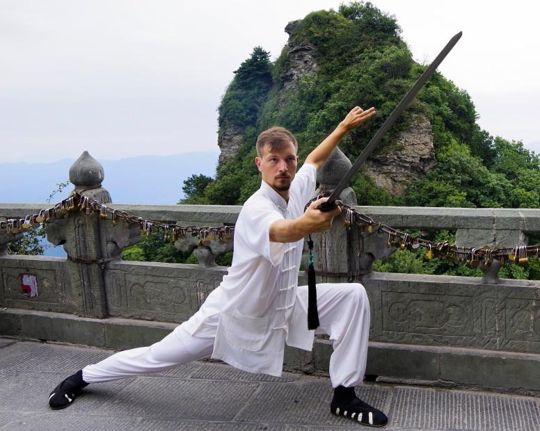 Michael Weichhardt Master Ziji Wudang Peak-1