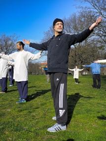 Wudang Akademie Training im Freien